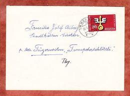 Brief, EF Hospes, Immensee Nach Taegerwilen 1954 (57065) - Suisse