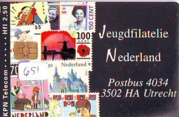 NEDERLAND CHIP TELEFOONKAART CRD 651 * Jeugdfilatelie Nederland * Telecarte A PUCE PAYS-BAS ONGEBRUIKT MINT - Nederland