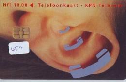 NEDERLAND CHIP TELEFOONKAART CRD 652 * Rijksgebouwendienst * Telecarte A PUCE PAYS-BAS ONGEBRUIKT MINT - Nederland