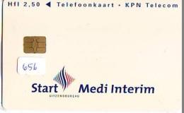 NEDERLAND CHIP TELEFOONKAART CRD 656 * START * Telecarte A PUCE PAYS-BAS ONGEBRUIKT MINT - Nederland