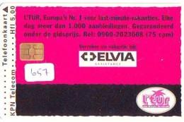 NEDERLAND CHIP TELEFOONKAART CRD 657 * ELVIA * Telecarte A PUCE PAYS-BAS ONGEBRUIKT MINT - Privé