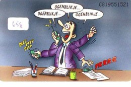 RRR * NEDERLAND CHIP TELEFOONKAART CRD 658 * ABAB * Telecarte A PUCE PAYS-BAS ONGEBRUIKT MINT - Nederland