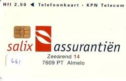 NEDERLAND CHIP TELEFOONKAART CRD 661 * SALIX * Telecarte A PUCE PAYS-BAS ONGEBRUIKT MINT - Nederland
