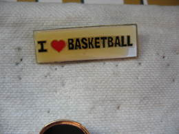 """Pin's """"J'aime Le Basketball"""" - Pallacanestro"""