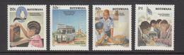 1996 Botswana Radio Police Complete Set Of 4  MNH - Botswana (1966-...)