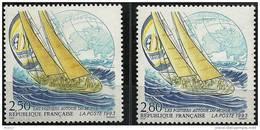 """FR YT 2789 & 2831 """" Les Postiers Autour Du Monde """" 1993 Neuf** - France"""