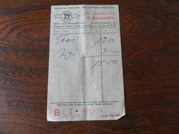 ANCIEN TICKET PHARMACIE  / M. WEINKOPF  /  GRAZ   1964 - Matériel Médical & Dentaire