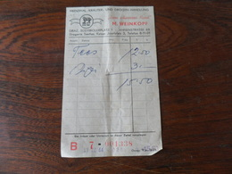 ANCIEN TICKET PHARMACIE  / M. WEINKOPF  /  GRAZ   1964 - Medisch En Tandheelkundig Materiaal