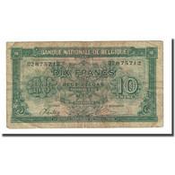 Billet, Belgique, 10 Francs-2 Belgas, 1943-02-01, KM:122, TB - [ 2] 1831-... : Koninkrijk België