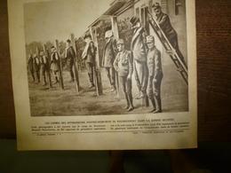 1917 LE MIROIR:Crimes à Crouchévatz (Serbie); Manequins Explosifs;Chauny,Bapaume,Peronne;British-Army;Les Portugais;etc - Riviste & Giornali