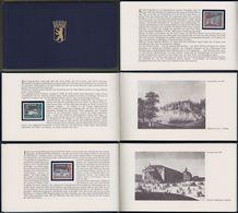 """Berlin: Minister Book - Ministerbuch - Motivbuch MOB, Mi-Nr. 218-29 **, """" Alt-Berlin """", Rarität ! X - Covers & Documents"""
