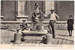 CPA.VAL-de-MARNE.FONTENAY SOUS BOIS.LA FONTAINE DES ROSETTES - Fontenay Sous Bois
