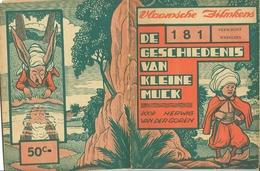 Vlaamsche Filmkens Nr 181 De Geschiedenis Van Kleine Muck Door Herwig Van Der Goren ( Averbode's Jeugdbibliotheek ) - Livres, BD, Revues
