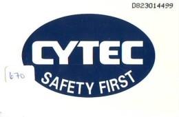 NEDERLAND CHIP TELEFOONKAART CRD 670 * CYTEC * Telecarte A PUCE PAYS-BAS ONGEBRUIKT MINT - Privé