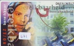 NEDERLAND CHIP TELEFOONKAART CRD 671 * BEREIKBAARHEID * Telecarte A PUCE PAYS-BAS ONGEBRUIKT MINT - Nederland