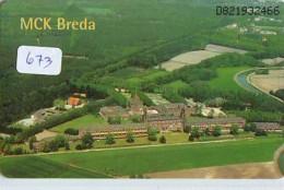 NEDERLAND CHIP TELEFOONKAART CRD 673 * MCK BREDA * Telecarte A PUCE PAYS-BAS ONGEBRUIKT MINT - Nederland