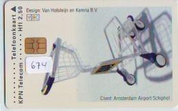 NEDERLAND CHIP TELEFOONKAART CRD 674 * VAN HOLSTEIJN * Telecarte A PUCE PAYS-BAS ONGEBRUIKT MINT - Nederland