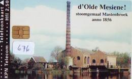NEDERLAND CHIP TELEFOONKAART CRD 676 * D 'OLDE MESIENE MASTENBROEK * Telecarte A PUCE PAYS-BAS ONGEBRUIKT MINT - Nederland