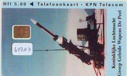 NEDERLAND CHIP TELEFOONKAART CRD 677.03 * KONINKLIJKE LUCHTMACHT * Telecarte A PUCE PAYS-BAS ONGEBRUIKT MINT - Leger