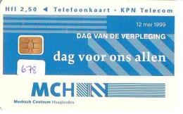 NEDERLAND CHIP TELEFOONKAART CRD 678 * MCH * Telecarte A PUCE PAYS-BAS ONGEBRUIKT MINT - Nederland