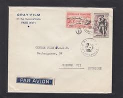 """LETTRE DE LA SOCIETE """"GRAY-FILM"""" POUR """"OEFRAM FILM"""" VIENNE. - Frankreich"""