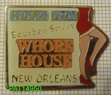 PIN UP WHORE HOUSE à NEW ORLEANS USA  MAISON CLOSE LUPANAR - Pin-ups