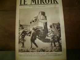 1917 LE MIROIR:Les TANKS US;Soldats Canadiens à Vimy;Révolution Russe;Arrivée Des Portugais;Les Oeufs De Paques Du Front - Riviste & Giornali