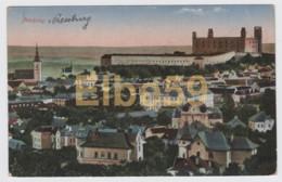 Slovaquie, Bratislava (Pozsony, Pressburg), Chateau, écrite ,timbre - Slovacchia