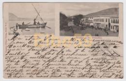 Palestine, Carte Multivues, Lac De  Tibériade (Genézareth), Damas, écrite - Palestina