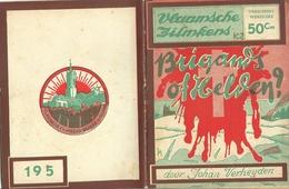Vlaamsche Filmkens Nr 195 Brigands Of Helden (uit Den Boerenkrijg) Johan Verheyden ( Averbode's Jeugdbibliotheek ) - Books, Magazines, Comics