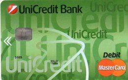 UKAINE CREDIT CARD UNICREDIT BANK MASTERCARD - Geldkarten (Ablauf Min. 10 Jahre)