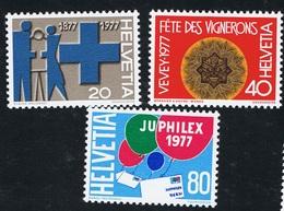 1977 Kompletter Jahrgang   Michel 1087 - 1115  Postfrisch Xx - Schweiz