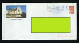 PAP Pret à Poster Oblitéré - Faverolles Et Coemy La Marne église, Monument Aux Morts - Prêts-à-poster: Other (1995-...)