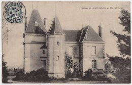 56 - B55444CPA - MALGUENAC - Chateau De LESTURGAN - Très Bon état - MORBIHAN - France