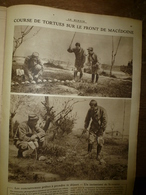 1917 LE MIROIR:Course De Tortues Sur Le Front;Nicolas II Et Alexis;Belges En Afrique Allemande;Gravure De Carrey;etc - Riviste & Giornali