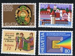 1978 Schönes   Lot   Michel 1116 - 1119 Block 23 1128 - 1129 1133 W ZD 28 1137 - 1140 Siehe Scan  Postfrisch Xx - Schweiz
