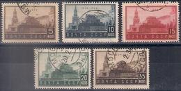 Russia 1934, Michel Nr 467-71, Used - 1923-1991 USSR