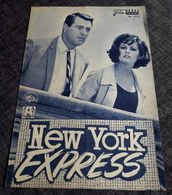 """CLAUDIA CARDINALE & ROCK HUDSON In """"New York Express"""" Mit Guy Stockwell ... - Altes NFP-Filmprogramm - 182294 - Magazines"""