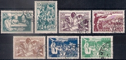 Russia 1938, Michel Nr 618-24, Used - 1923-1991 USSR