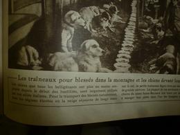 1917 LE MIROIR:Les Chiens De L'armée Italienne;Fabrication Casques Et Chaussures à LA BOURGUIGNOTTE;Révolution Russe;etc - Riviste & Giornali