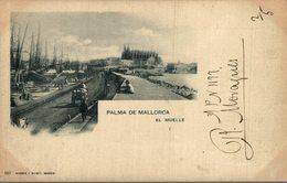 PALMA DE MALLORCA EL MUELLE  ESPAÑA HAUSER Y MENET - Mallorca