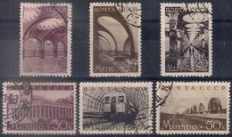 Russia 1938, Michel Nr 646-51, Used - 1923-1991 USSR