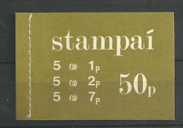 1975 MNH Booklet ,  Eire, Ireland, Irland, Postfris** - Libretti