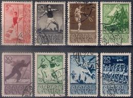 Russia 1938, Michel Nr 657-64, Used - 1923-1991 USSR
