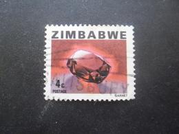 ZIMBABWE N°3 Oblitéré - Zimbabwe (1980-...)