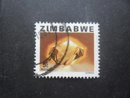 ZIMBABWE N°4 Oblitéré - Zimbabwe (1980-...)