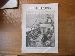 L'ILLUSTRATION DU 30 JANVIER 1886 LES ARMEMENTS DE LA GRECE ET DE LA TURQUIE,LES MINES ET LES MINEURS,DECAZEVILLE,TABLEA - Riviste - Ante 1900
