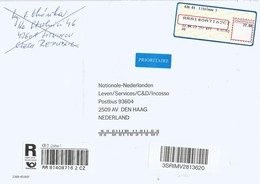 Czech 2017 Litvinov Meter Vývojářské Centrum České Pošty S.p. - OZ VAKUS EMA Registered Cover - Tsjechië