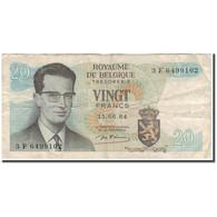 Billet, Belgique, 20 Francs, 1964-06-15, KM:138, B - [ 6] Treasury