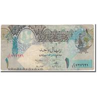 Billet, Qatar, 1 Riyal, 2003, KM:20, B - Qatar